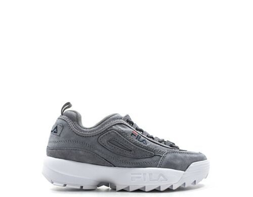 Donna 1010436 Scamosciato Sneakers Scarpe Fila Grigio 6qw awSAqxRfx