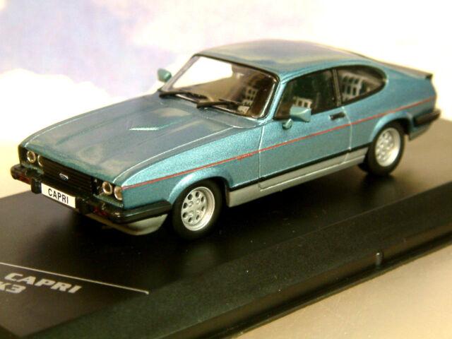 WHITEBOX de metal 1/43 1982 Ford Capri MK3 MKIII 2.8i Injection AZUL RHD / GB