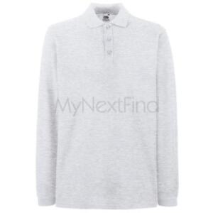 Fruit-of-the-Loom-Premium-Long-Sleeve-Polo-Shirt