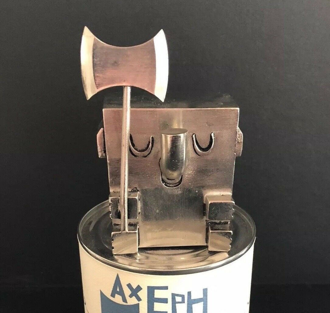 Amanda Visell Silber plated metal AXEPHUNT LE 88 100 collab w FULLY VISUAL