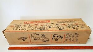 1950-039-s-ARMY-MOBILE-UNIT-Box-Only-Good-Condition-US