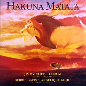 Jimmy-Cliff-CD-Single-Hakuna-Matata-France-VG-EX
