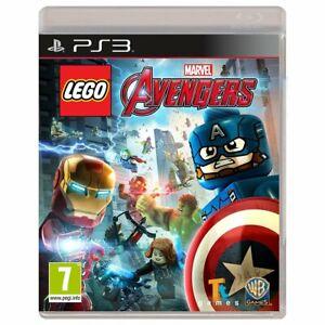 LEGO Marvel Avengers PS3 Brand New Factory Sealed