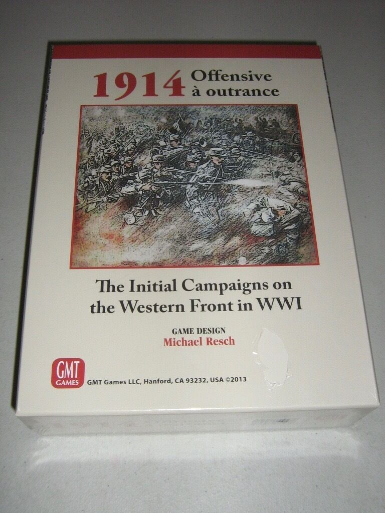 1914 Offensive a outrance (New)