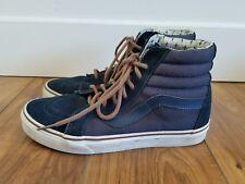 895c85aa70 item 3 VANS OFF THE WALL SK8-Hi Sneakers Canvas SUEDE Navy Blue BROWN MENS  SZ 7 EUC -VANS OFF THE WALL SK8-Hi Sneakers Canvas SUEDE Navy Blue BROWN  MENS SZ ...