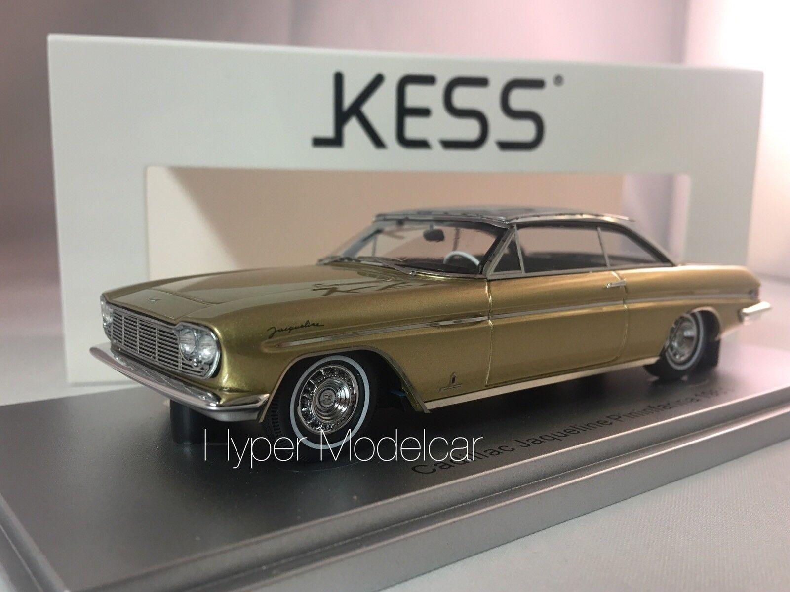 KESS MODEL 1/43 Cadillac Brougham Jaqueline Pinfarina 1961 oro Met. KE43020030