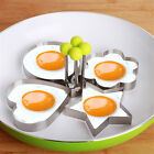 Cooking Kitchen Tools Stainless Steel Fried Egg Shaper Ring Pancake Mould Mold