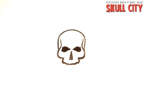 Minimal Skull Patch-Patch-tatuaje rythm Skulls logotipo muertos cráneo punk