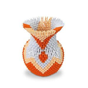 Image Is Loading 3D Modular Origami Flower Vase Handmade Paper Art