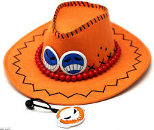 One piece Portgas D Ace Cosplay Hat Cap Costume New Free Shipping