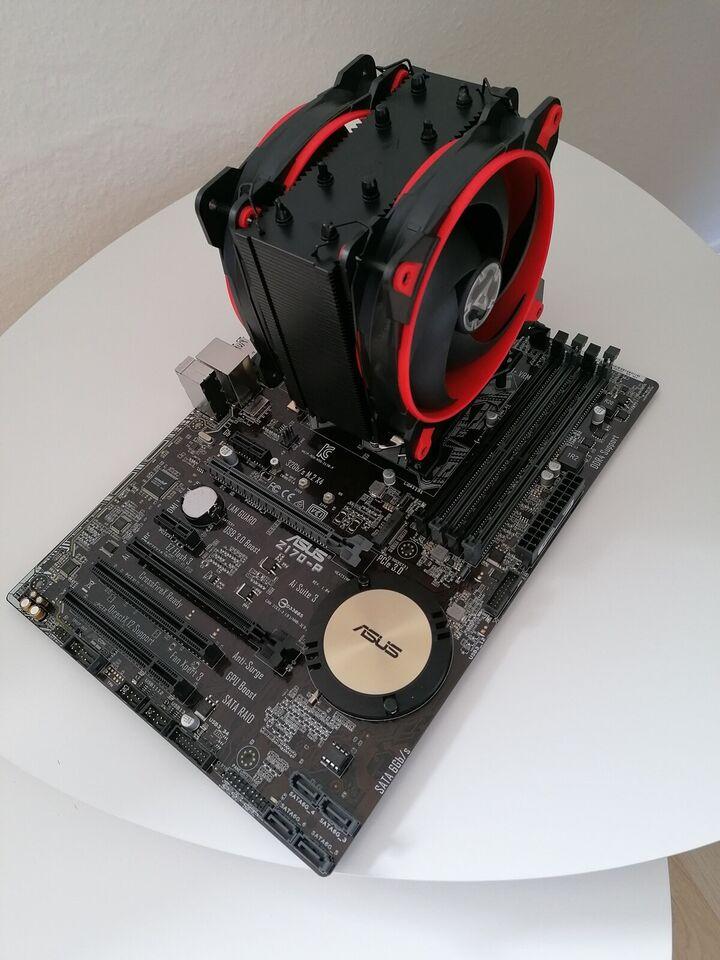 Bundkort CPU og køler, Perfekt