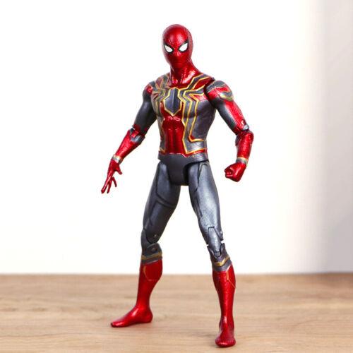 """Marvel Spider Man Iron Spider Avengers 3 Infinity War 7/"""" Action Figure Spielzeug"""