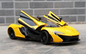 Rastar-1-24-McLaren-P1-Sports-Car-Alloy-Toy-Vehicles-Model-Boys-Gift-Display