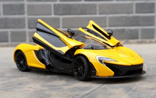 Rastar 1:24 McLaren P1 Aleación vehículos de juguete modelo de coche deportivo pantalla muchachos Regalo