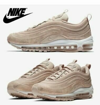 Womens Nike Air Max 97 SE Particle Beige Metallic Red Bronze AV8198200 Size 7