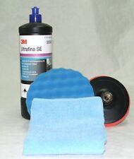 Kit de Lustrage 3M Bouchon Bleu Anti Hologrammes 50383 + 50388 + Plateau + Micro