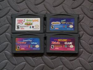 Lot-Nintendo-Game-Boy-Advance-Board-Games-Candy-Land-Aggravation-Connect-4
