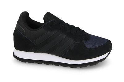 Adidas Women's 8K Black White Shoes | GJSportLand