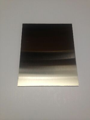 """1//16/"""" x 1/"""" x 5/"""" Stainless Steel Plate 304 SS .0625/"""" 16 gauge"""