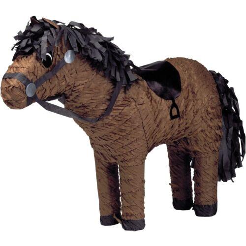 Braun Pferd PinataPartyspielDekoration