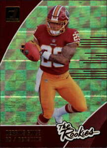 2018-Donruss-The-Rookies-7-Derrius-Guice-Redskins