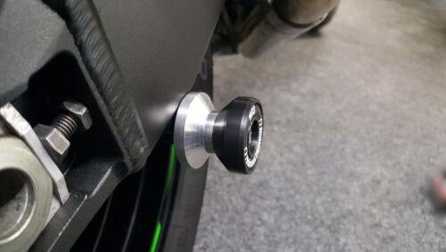 Triumph Street Triple 675 675R MGS Performance Rear Paddock Stand Bobbins Reels