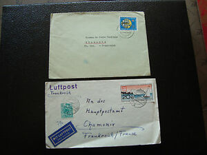 Germany-Rda-2-Envelopes-1961-1965-cy35-Germany