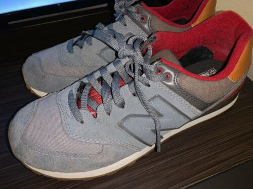 Men's New Balance Shoes (Size 9) Red & Gray