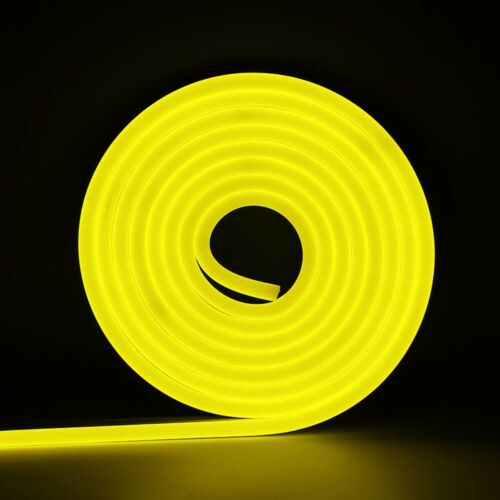 1M-5M DC 12V SMD2835 Flexible LED Strip Waterproof Neon Lights Silicone Tube Ly