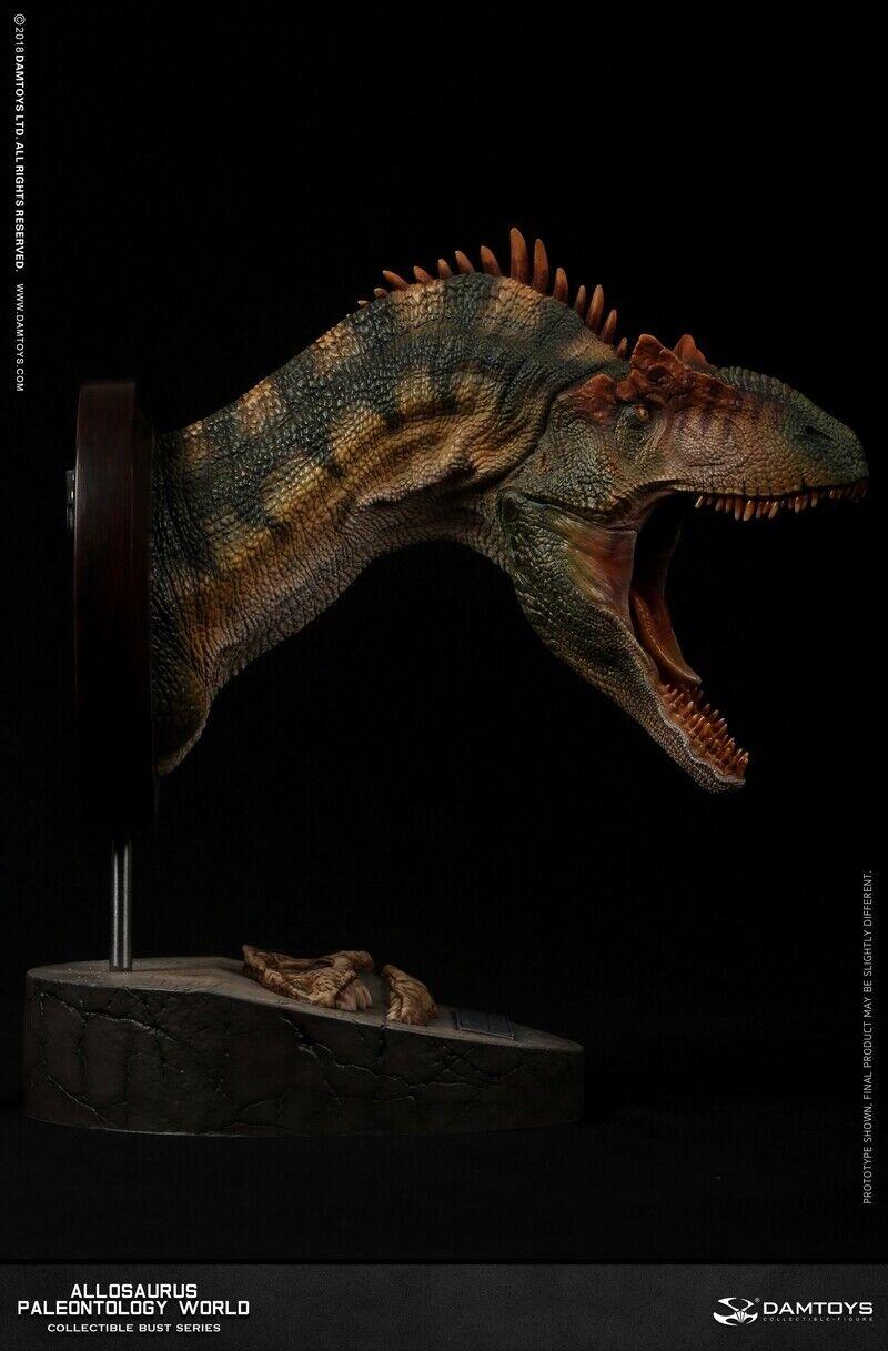 DAMTOYS Museo Serie  alosaurio Busto Estatua Coleccionables MUS010B Coleccionable