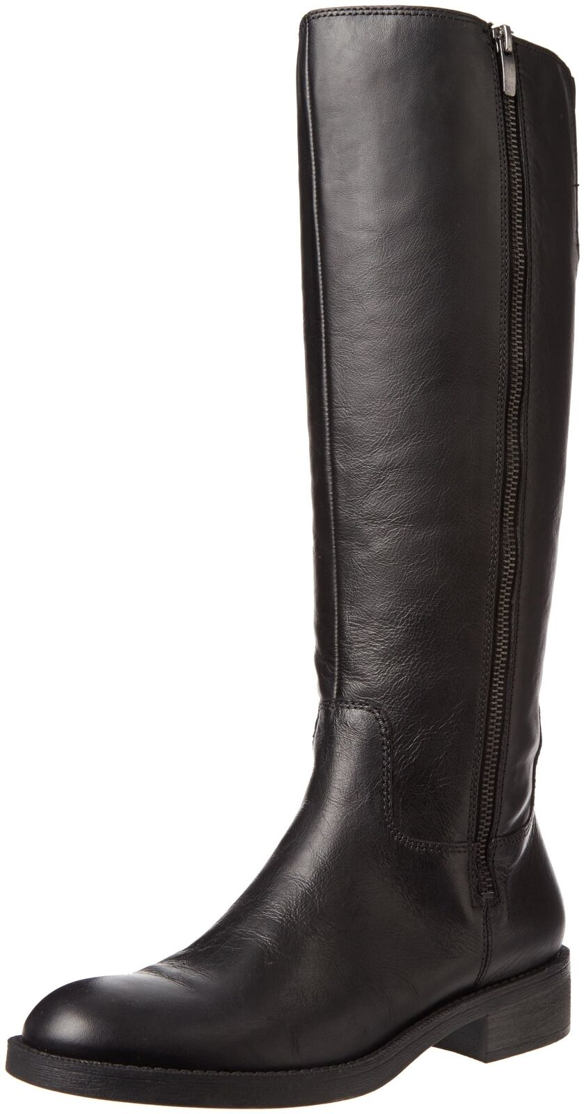 Enzo Angiolini Women's Shobi Riding Boot Black Leather 6.5 B(M) US