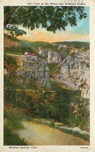 WB-Postcard-CO-D646-Cave-of-the-Winds-Williams-Canon-Manitou-Springs-Cancel-1942
