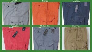 Polo Nuovo Lauren Arancione Blu Uomo Gellar Rosso Fatigue Shorts 75 Ralph Nwt Cargo 7tc4qnw5ZZ