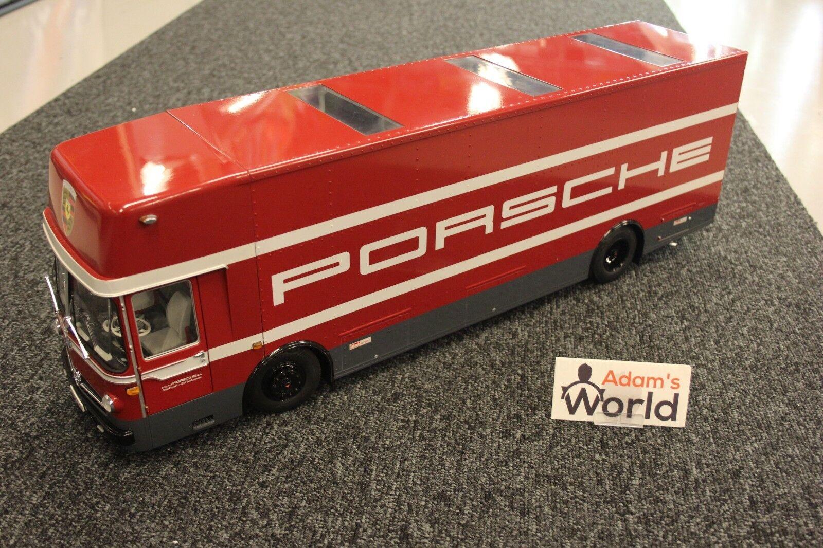 Schuco Mercedes-Benz Race transporter 1 18 Porsche Racing Team
