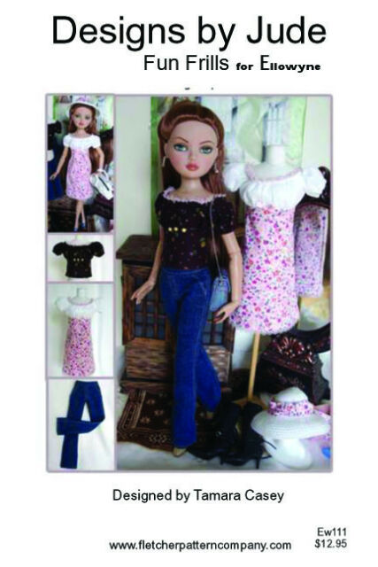 "Sherry Joe Tai Fashion Ellowyne Wilde Outfit Clothes for 16/"" Tonner doll 7-EWO"
