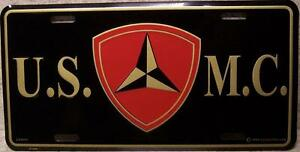 Aluminum-Military-License-Plate-3rd-Marine-Division-N