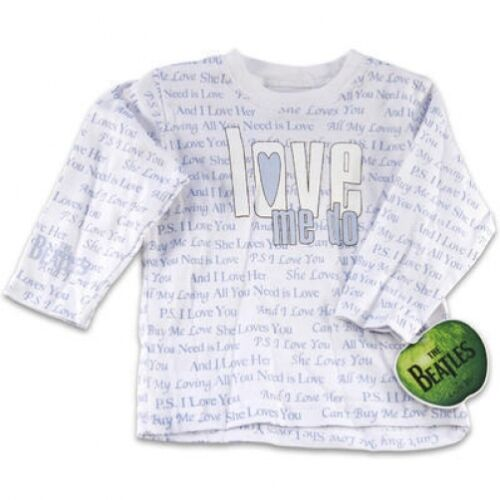 Beatles Love Me Do BabyT Shirt Blue   Cuttie Pie Baby  Sizes 12M 18M 24M