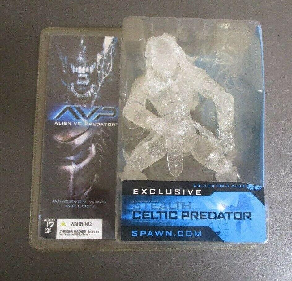 Stealth Celtic Predator Exclusive 2004 MCFARLANE TOYS TOYS TOYS Alien vs. Predator MOC GV 26af76