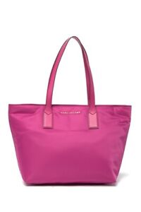 bcae07ed7 Image is loading Brand-New-225-MARC-JACOBS-Nylon-Pink-Wingman-