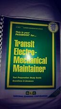 Transit Electro Mechanical Maintainer  Passbook Q & A