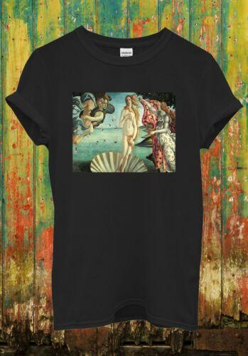 The Birth Of Venus Greek Mythology Funny Cool Men Women Top Unisex T Shirt 1717
