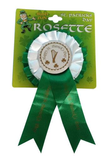 Femme homme chapeaux bandeaux rosettes st patrick celebration irlandais style *