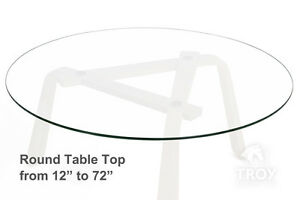 Round glass table top 12 14 16 18 20 22 23 24 25 for 12 inch round glass table top