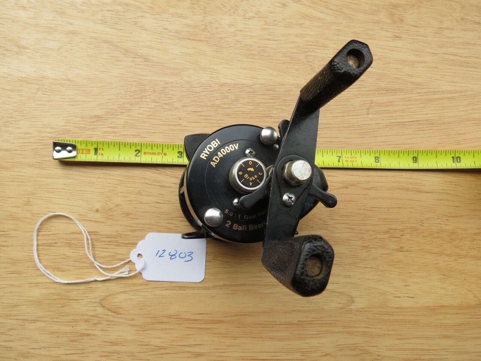 Vintage rare Ryobi AD4000V fishing reel made in Japan (Lot)