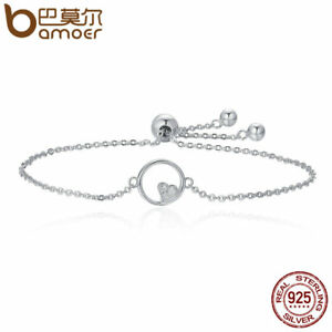 "Fine Bracelets Authentic .925 Sterling Silver Bracelet 8"" Latest Fashion"