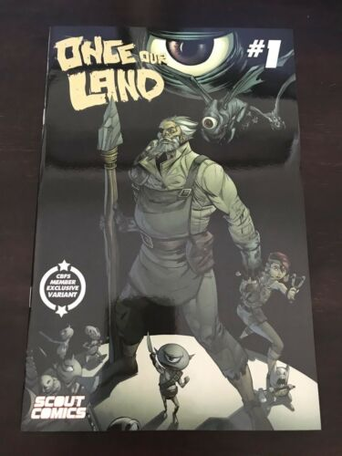 Once Our Land #1 CBFS Scout Variant Cover 1//250 NM 9.4 Unread