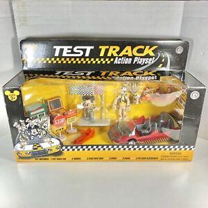 Disney Epcot Test Track Premium Action Figure Play Set