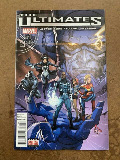 ULTIMATES #1(1st App. of Ayo), #2 (1st App. Galactus The Lifebringer), #3 (2015-