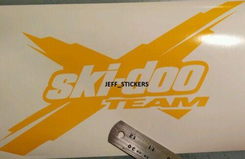 2 x large Ski-Doo Team brp can-am sticker decal emblem #52