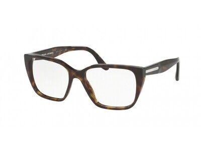 Ragionevole Occhiali Da Vista Montatura Prada Autentici Pr 08tv Havana 2au1o1 Ultimi Design Diversificati